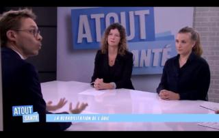 Jérôme Lefeuvre et Elisabeth Mamelle - Emission Atout Santé